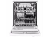 John Lewis Freestanding Dishwasher, White