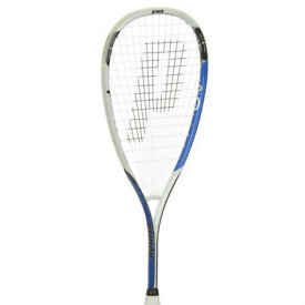 Prince Air O lightning triple threat squash racket with Wilson headcover
