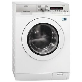 AEG L77695WD Freestanding Washer Dryer, 9kg Wash/6kg Dry Load, A Energy Rating, 1600 Spin