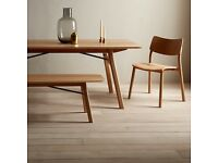 BNIB John lewis project 036, 8-10 seat extending dining table solid oak rrp£799