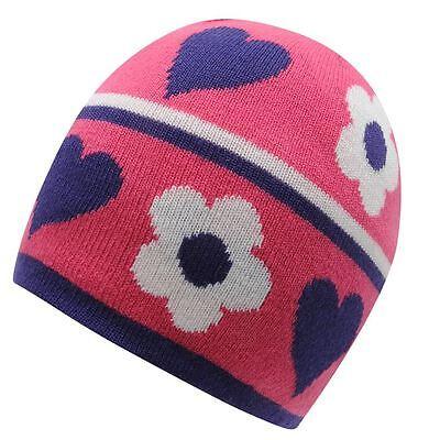 8d601228631 Child Girls NEVICA ISCHGL BEANIE JUNIOR HAT Age 4-8 Yrs Bright Warm Soft  Playful