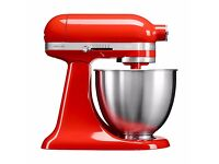 KitchenAid Artisan Mini Series Tilt-Head Stand Mixer 3.3L Hot Sauce Red RRP £450