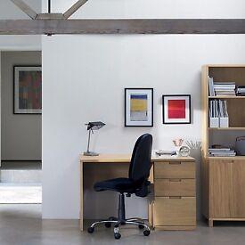 John Lewis Abacus Filing Desk Oak RRP £299 only £45 ono