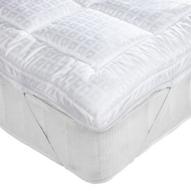 As new-John Lewis dual layer washable topper for double mattress-shop price £90 ,my price £55