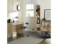 John Lewis The Basics Collection Dexter Bookcase and Desk