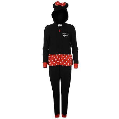 Minnie Mouse Disney Jumpsuit Hausanzug Schlafanzug Onesie Kostüm Gr S M L XL 2XL
