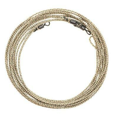 "3 X LEADCORE LEADERS 30"" MUD BROWN LOOP - LOOP FOR CARP FISHING"