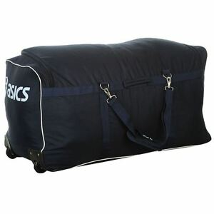 asics koffer reisetasche sporttasche tasche trolley mit rollen xxxl 165 l jumbo ebay. Black Bedroom Furniture Sets. Home Design Ideas