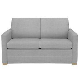 John Lewis Cream Siesta Small Sofa Bed