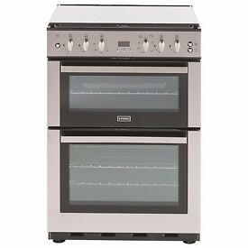 Stoves SFG60DOP Fanned Gas Cooker, Stainless Steel, New, RRP £499