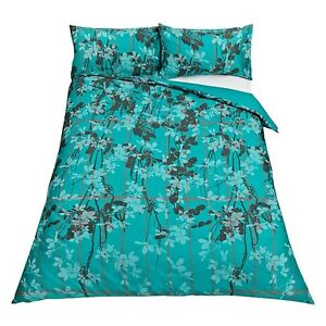 BRAND NEW JOHN LEWIS CLARISSA HULSE KEW DUVET COVER SET KINGSIZE KINGFISHER £109