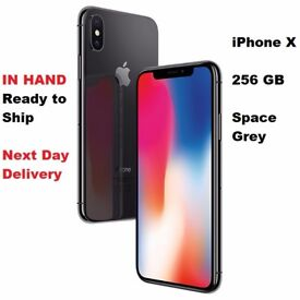 Apple iPhone X - 256GB - Space Grey (Unlocked) *IN HAND* Ready to Post/Ship