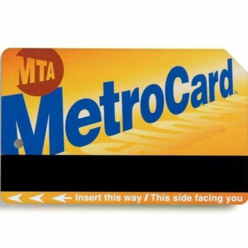 30 Day Unlimited MTA Metro MetroCard Monthly NYC New York City Subway Card 127 - $97.00