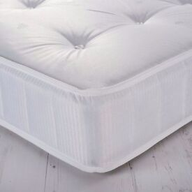 New John Lewis Essentials Collection 325 Open Spring Mattress Double **CAN DELIVER**