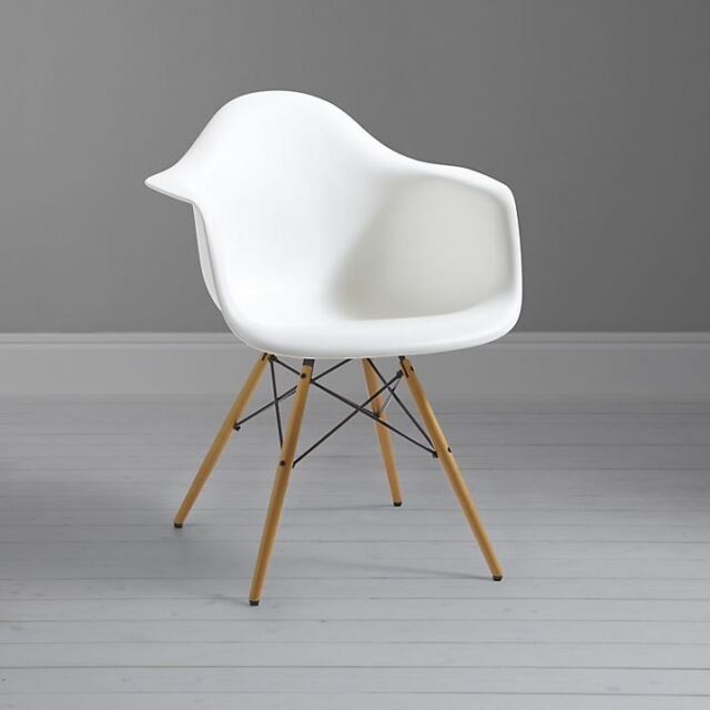 Eames DAW Inspired Modern Armchair Dining Chairs For Home Office Restaurant