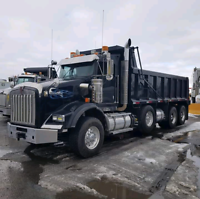 Triaxle dump truck for hire /Moving services