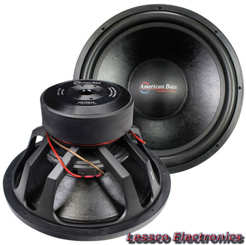 "American Bass HD15D2A V2 (New Model V2) 15"" Car SubWoofer 4000W Max DVC 2ohm"