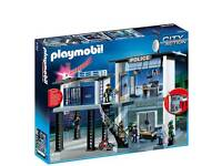 playmobil police station with instructions