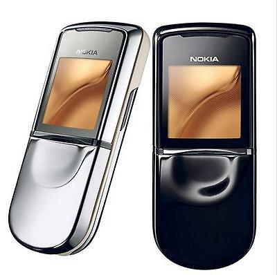 Nokia 8800SE sirocco unlocked 2G GSM 900 1800 1900 2MP Bluetooth Mobile phone Nokia 8800 Sirocco Mobile