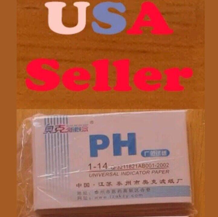 80 Litmus Paper Test Strips Alkaline- Acid pH Indicator Testing Kit
