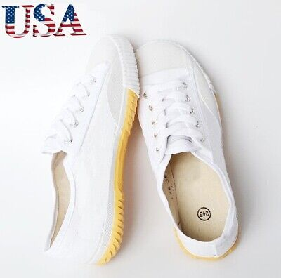 US Canvas Kung Fu Shoes NINJA Martial Arts Wushu Training Sporting Sneaker top ()