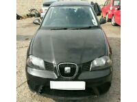 BREAKING SEAT IBIZA 2008 1.4 TDI ECOMOTIVE 5DR BLACK MOST PARTS AVAILABLE 36k MILES