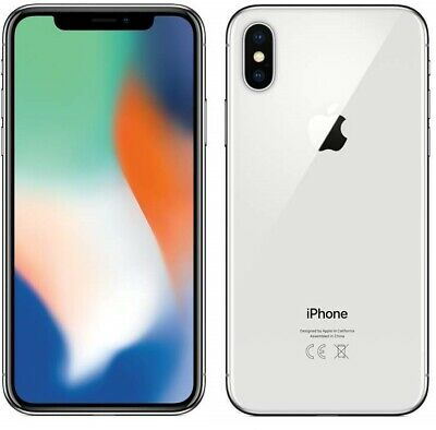 "NEW Apple iPhone X 4G 5.8"" Smartphone 3GB RAM 64GB Unlocked Sim-Free - Silver"
