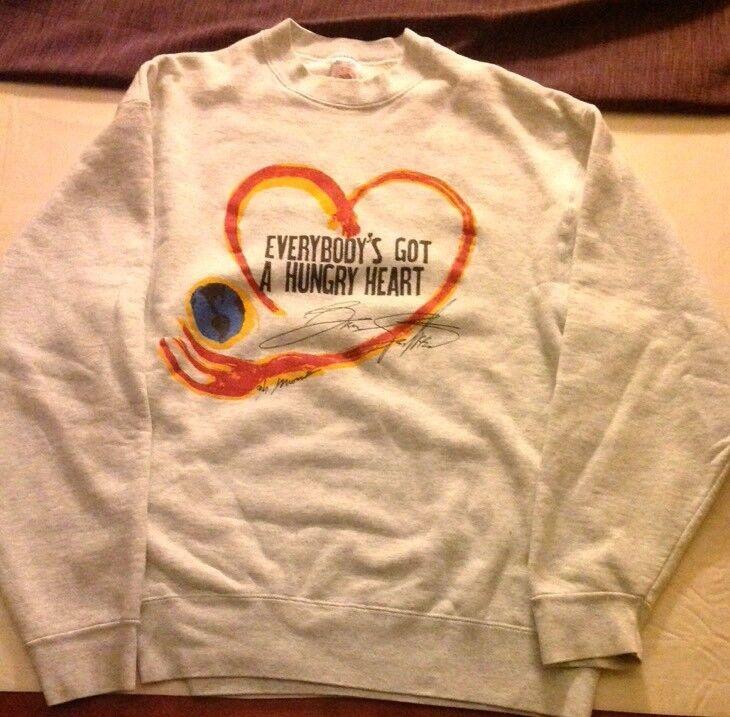 Bruce Springsteen Hungerthon 1995 XL Sweatshirt - EVERYBODY