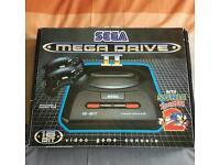 Sega megadrive 2 with 43 games retro not Nintendo xbox or playstation