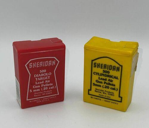 500 Sheridan Diabolo / 450 Sheridan Cylindrical Pellets