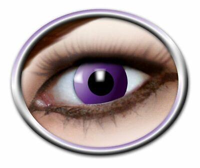 Purple Gothic 3-Monats Fantasy Linsen Kontaktlinsen Farblinsen - Gothic Kontaktlinsen