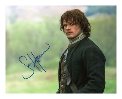 SAM HEUGHAN - OUTLANDER AUTOGRAPHED SIGNED A4 PP POSTER PHOTO PRINT 2