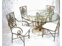 Dining Table & chairs by FOURNIER
