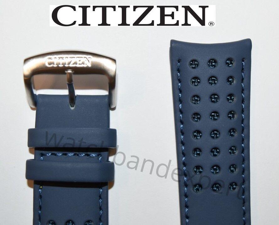 Original Citizen AT8020-03L H800-S081165 Blue Angels Leather