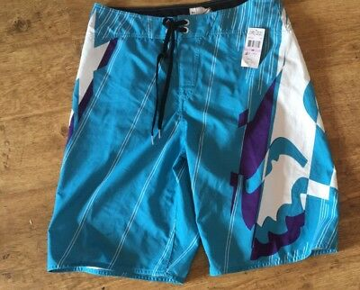 Fox Metric Board Shorts 34 Mens Waist Brand New Rrp 49.99