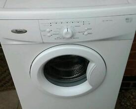 Whirlpool washing machine in new condition
