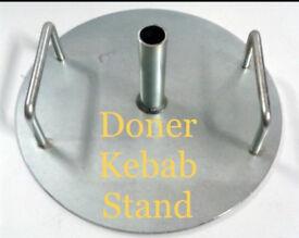 Doner Kebab Stand Stand For Skewer Canmac Archway Özden Garden