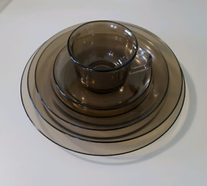 Smoked Glass Dishes