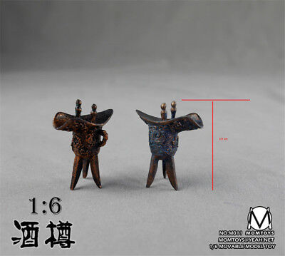 - NEW MOMTOYS 1/6 Wine glasses of ancient China hot action figure toys