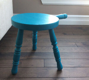 Accent Stool - Chalk Painted