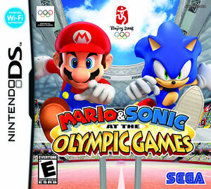 Mario Sonic at the olympic games-20$ seulement