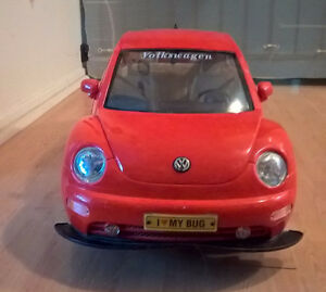 Red VW Beetle Radio Control Car 1:6 Scale