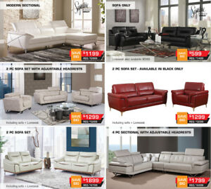 On Sale up to 60% OFF All High End Sofas and !