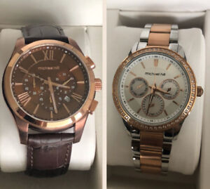 Michael Hill His and Her watches in beautiful gift boxes