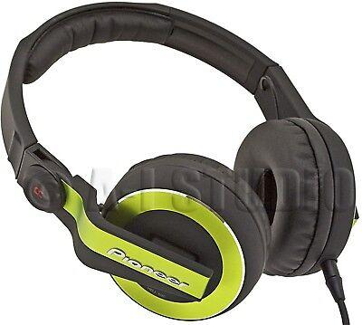 PIONEER HDJ-500G PRO/PROFESSIONAL/AUDIO/MUSIC ON-EAR DJ HEADPHONES SWIVEL GREEN