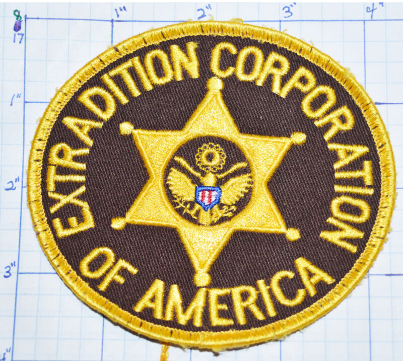 TENNESSEE, EXTRADITION CORPORATION OF AMERICAN PRIVATE COMPANY SECURITY PATCH