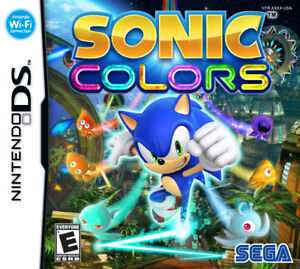 DS Sonic colors
