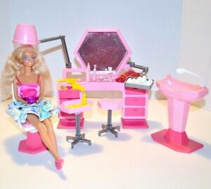 Salon de coiffure Barbie Vintage 1985