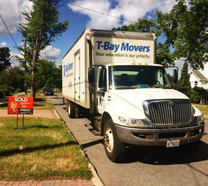 T-Bay Movers - Here to Move You!