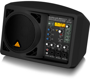 "Behringer B207MP3 PA/Monitor Speaker System MP3 Player 6.5"" 150W"
